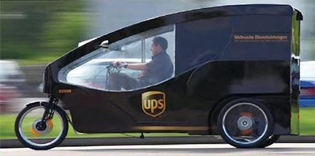 UPS Bicycle