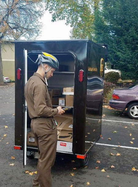 UPS Delivery Bicycle