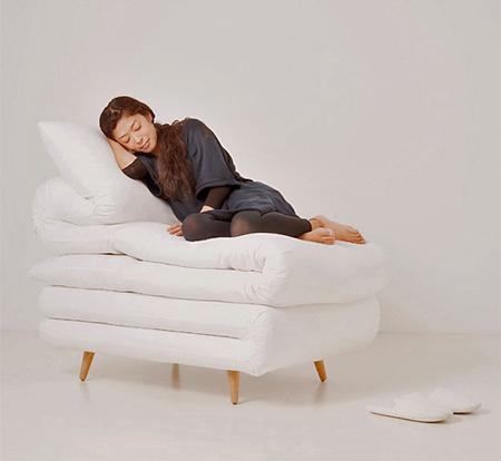 Daisuke Motogi Blanket Chair