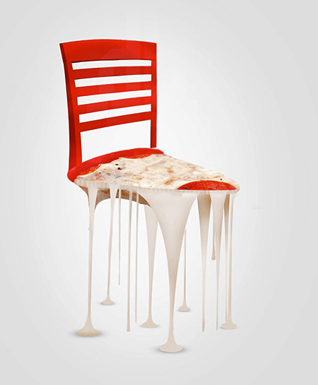 Pizza Chair