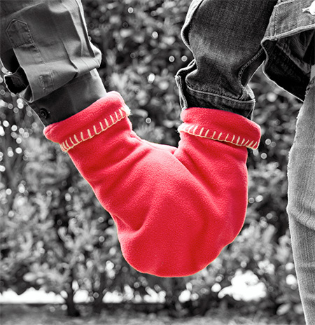 Gloves for Two People