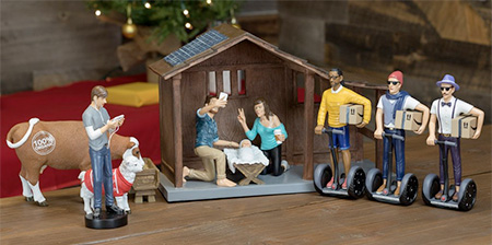 Hipster Nativity Set