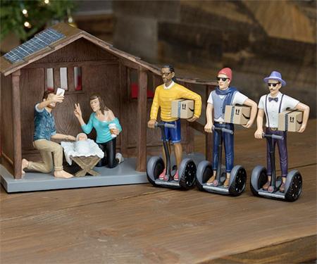 Modern Nativity Set