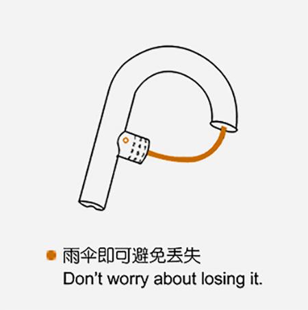 Umbrella Lock Handle