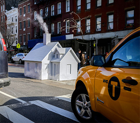 Miniature Houses in New York