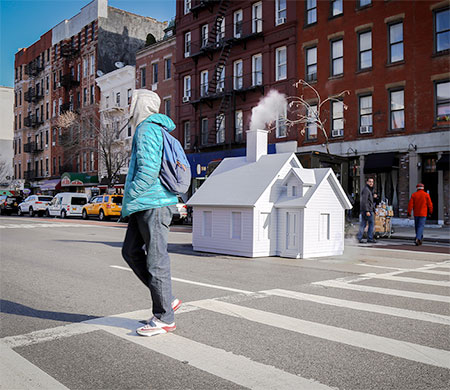 Miniature House in New York