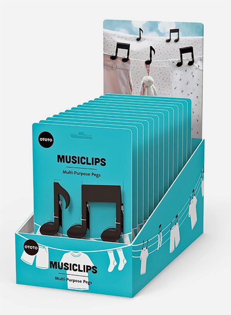 Musiclips Multi Purpose Pegs