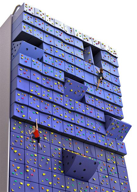 Random Climbing Wall