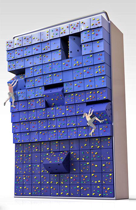 Modern Climbing Wall