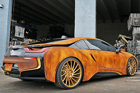 Rusted BMW