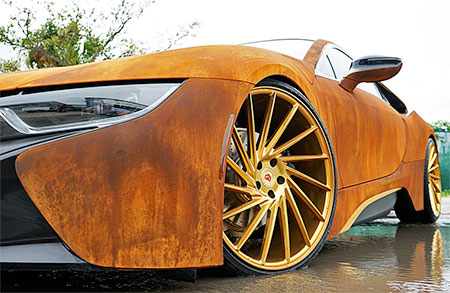 Rusting BMW