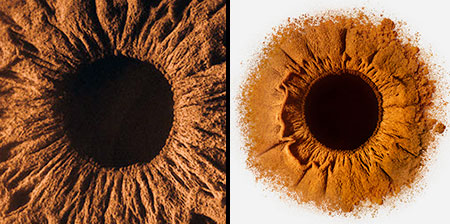 Eyes Made of Sand