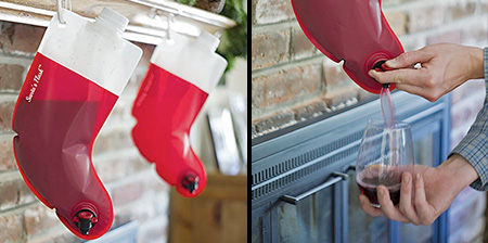 Stocking Flask