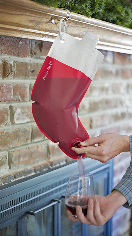 Christmas Stocking Flask