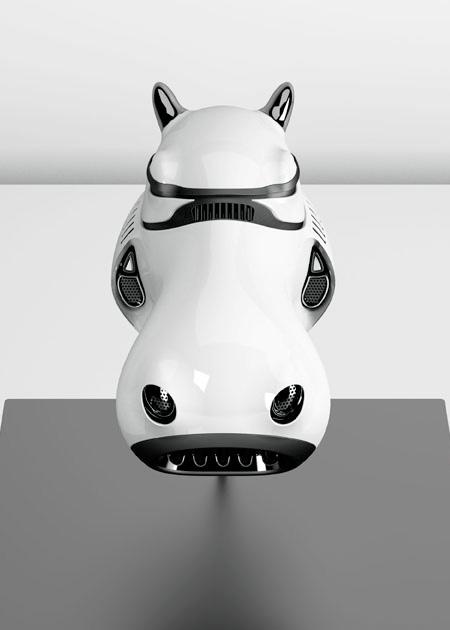 Animal Stormtrooper Helmets
