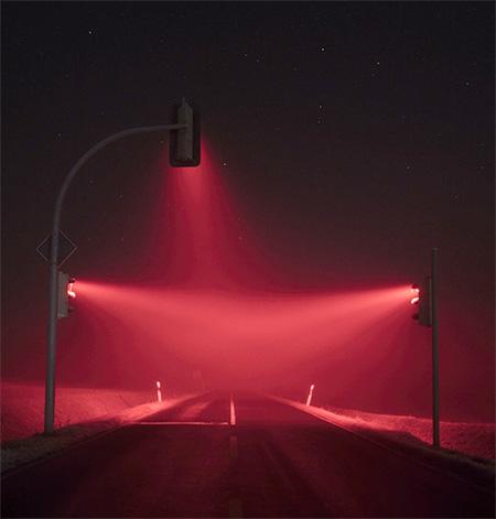 Fog Traffic Lights