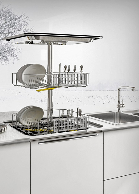 Vertical Dishwasher