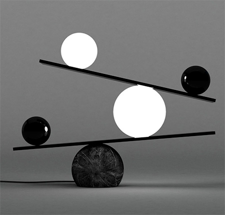 Victor Castaner Balance Lamp
