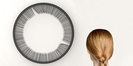 Eyelashes Clock