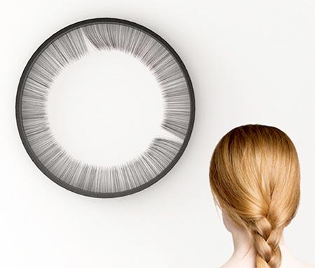 Eyelash Clock