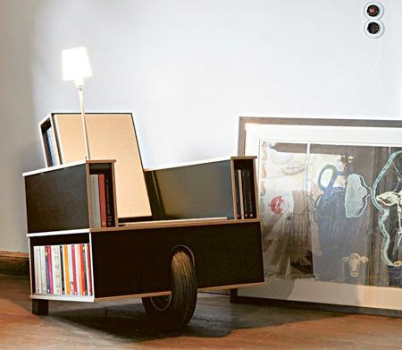 Nils Holger Moormann Bookshelf Chair