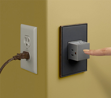 PopOut Electric Outlet