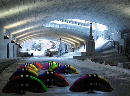 Rolling Homeless Shelter