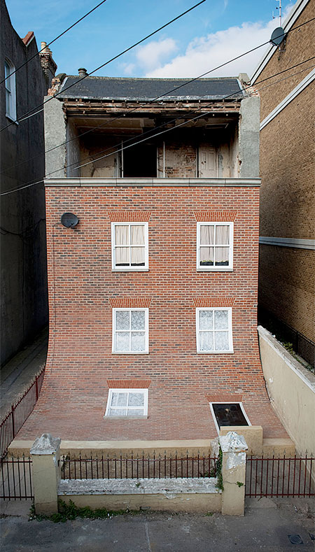 British Artist Alex Chinneck