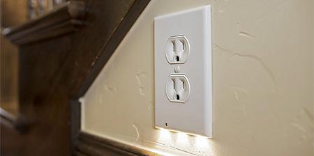 LED Lights Outlet Cover