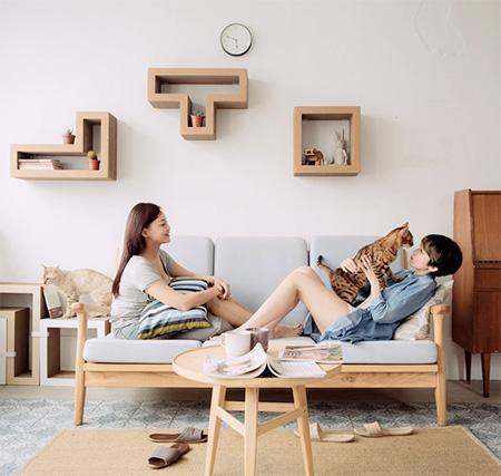 Tetris Shelf