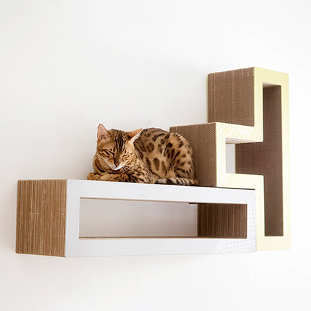 Tetris Cat Shelf