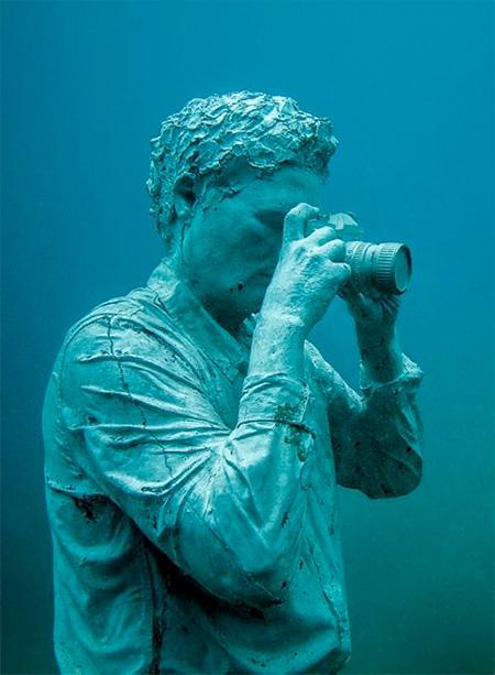 Jason deCaires Taylor Underwater Art
