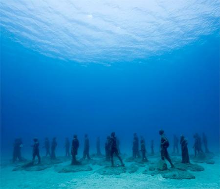 Jason Decaires Underwater Museum