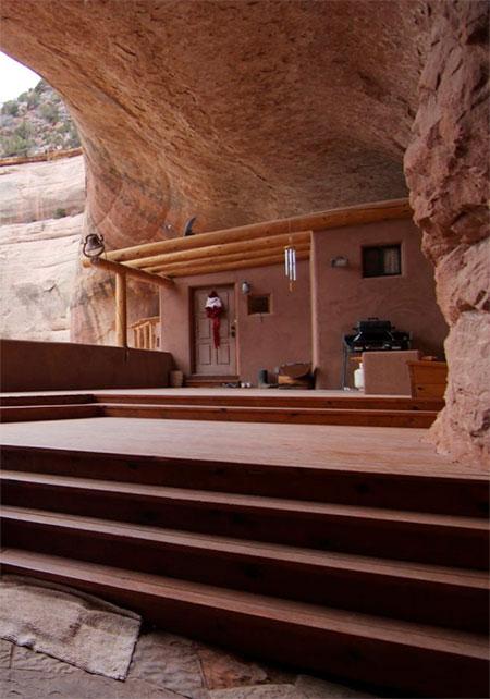Cave House In Utah
