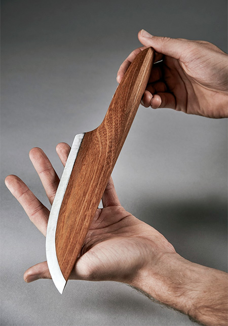 Knife Made of Wood