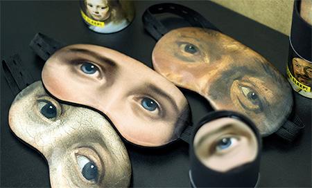 Art Sleeping Masks