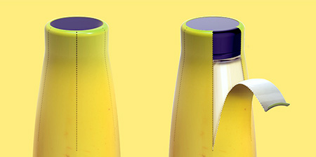 Banana Milk Packaging