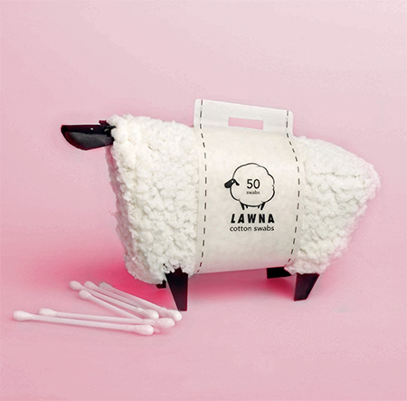 Cotton Swabs Sheep Packaging