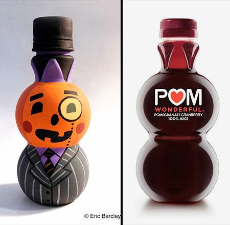 Pomegranate Bottle