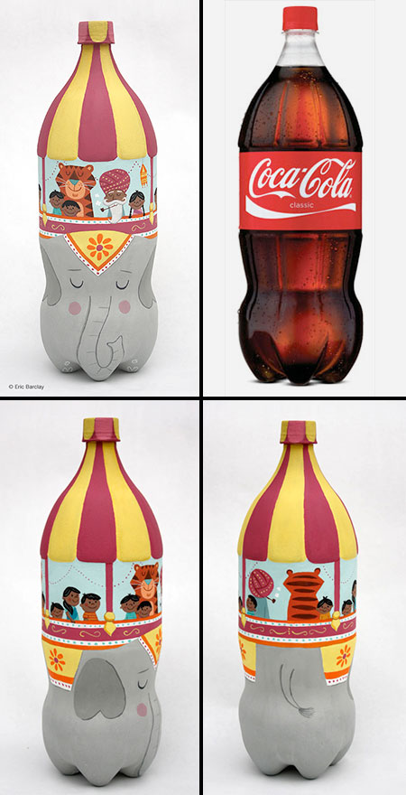 Coca-Cola Bottle Art