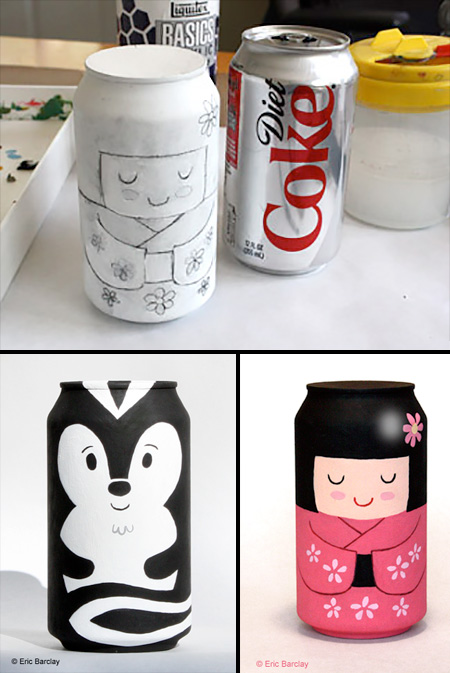 Coca-Cola Can Art