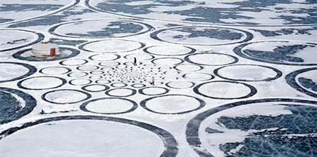 Frozen Lake Circles