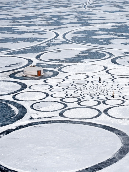 Frozen Lake Drawings