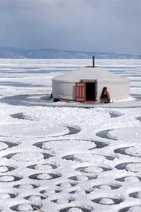 Frozen Lake Art