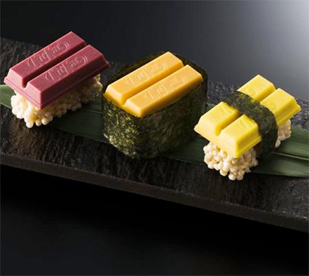 Kit Kat Sushi Japan
