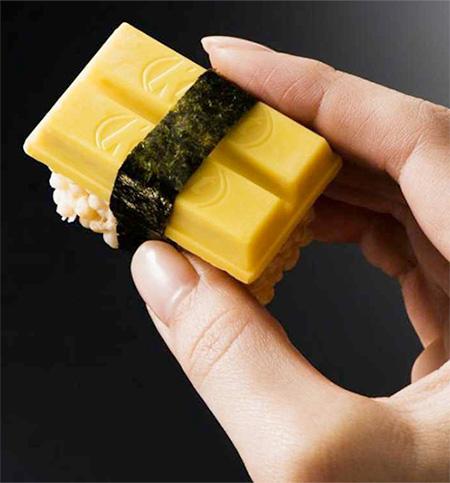 Japanese Kit Kat Sushi