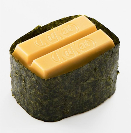 Kit Kat Sushi in Japan
