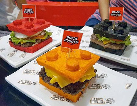 LEGO Brick Burgers