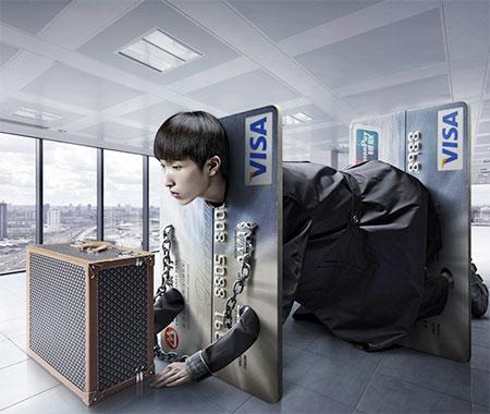 Chinese artist Sun Chunlong