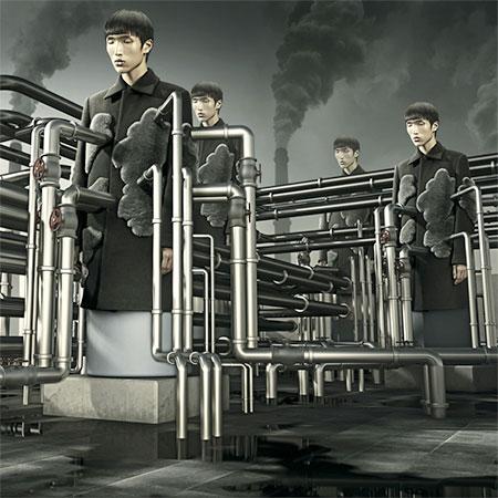 Sun Chunlong Photo Manipulations